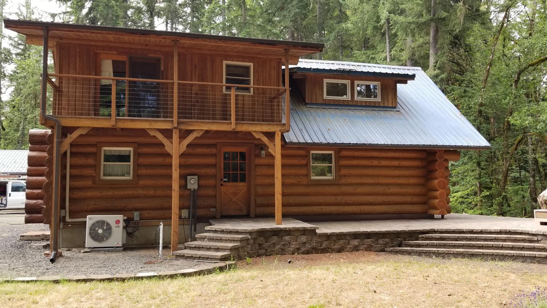 Oregon log home repair