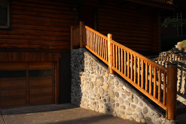 8a log home repair