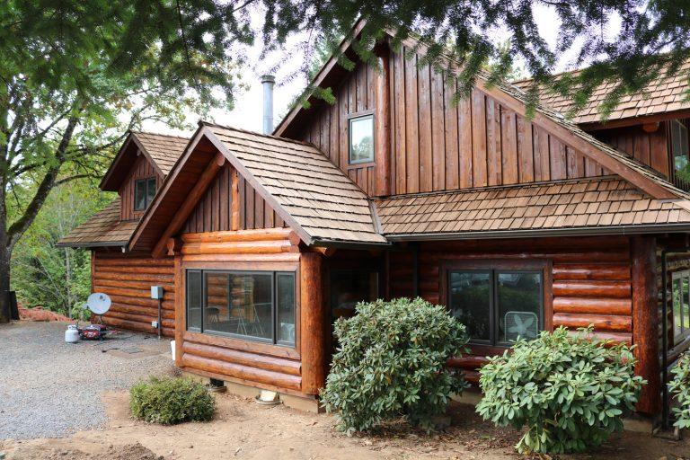 Oregon Log Home Restoration